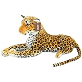 JESONN Stuffed Animals Toys Cheetah Spotted Leopard Plush (23.6 Inches)