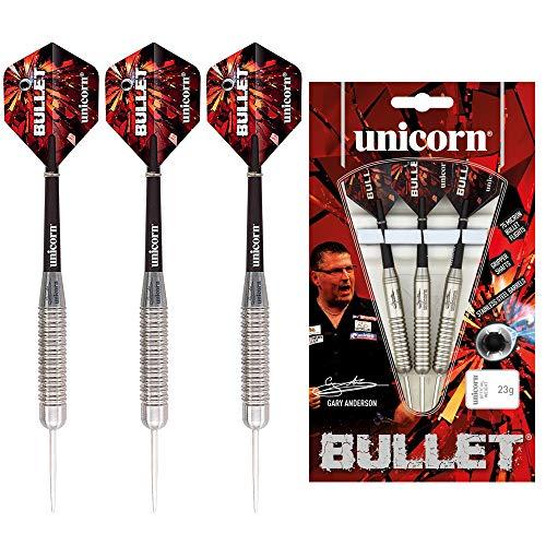 Unicorn Bullet Gary Anderson Steel Dart, Edelstahl, 26g