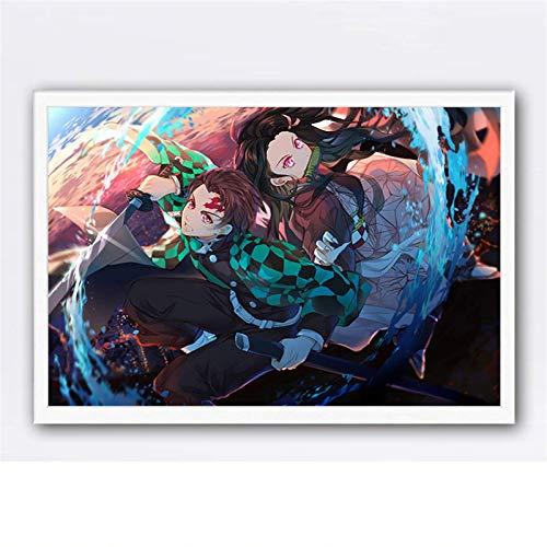 Puzzle 1000 piezas AnimePersonajes De Dibujos Animados JaponesesArteImágenes puzzle 1000 piezas adultos Juego de habilidad para toda la familia, colorido juego de ubicación.50x75cm(20x30inch)