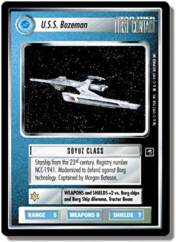 STAR TREK CCG 1E FC FIRST CONTACT USS BOZEMAN 126U