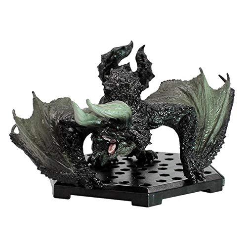 N / A Monster Hunter World Hecho a Mano Popularidad Black Eclipse Dragon Extinguir Dragon Sky Dragon Ice Charm Dragon Electric Dragon Hombre Fire Dragon-Dragón cornudo