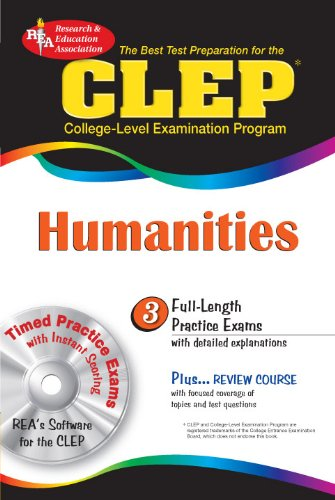 Clep Humanities W Cd Rom Clep Test Preparation