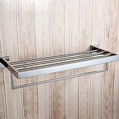 Handdoek Rack Hand ring Badkamer Handdoek Stands, Handdoek Bar Cool Modern RVS Dubbele Muur Installatie Moderne Wandmontage Duurzame Badkamer Opslag Droogrek