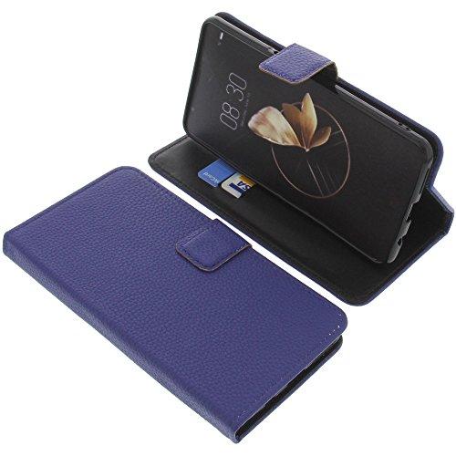 foto-kontor Tasche für Archos Diamond Gamma Book Style blau Schutz Hülle Buch