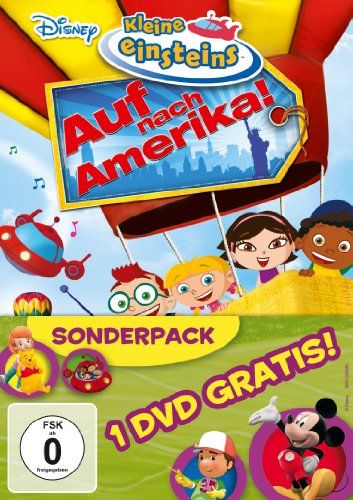 Kleine Einsteins, Volume 11 - Auf nach Amerika! / Spiel & Spaß mit ... [2 DVDs]