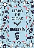 Libro de Citas Barbería: Formato A4 con 102 Páginas - Agenda de Citas para Barberos y Peluqueros