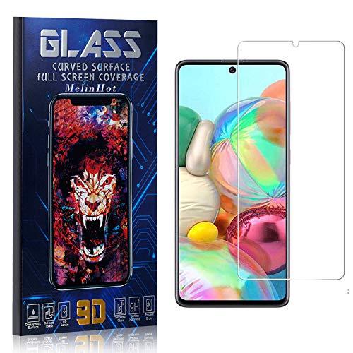 MelinHot Displayschutzfolie für Galaxy A81, Anti Fingerabdruck, Ultra Dünn Blasenfrei Schutzfolie aus Gehärtetem Glas für Samsung Galaxy A81, 1 Stück