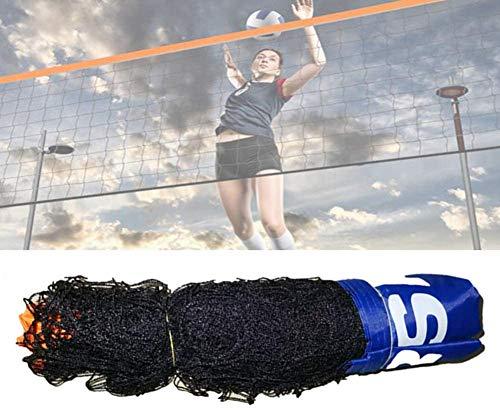 Jilijia 3–6 Meter verstellbares, faltbares Mini-Tennis- und Badminton-Kombi-Volleyball-Netz für Kinder, tragbar, für den Garten, Mini-Tennisnetz für Spieltraining (ohne Regal), 5 m