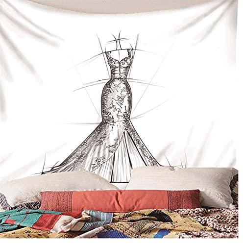binghongcha Tapestry Clothing 3D Wall Art Hippie Mandala Wall Hanging Decorations Wall Cloth For Bedroom Living Room Dorm Decor 220X240Cm (A-87)