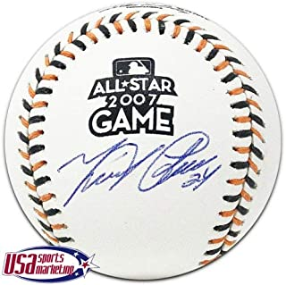 Miguel Cabrera Tigers Autographed Signed 2007 All Star Game Baseball JSA Auth
