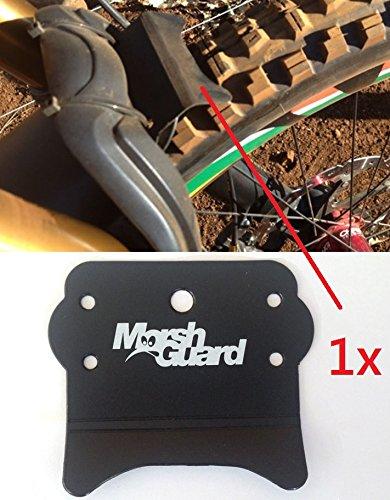 MARSH GUARD Mud MTB Face Fender Fahrrad Spritzschutz Schutzblech + F26 Sticker (The Stash (Zusatz Spritzschutz))