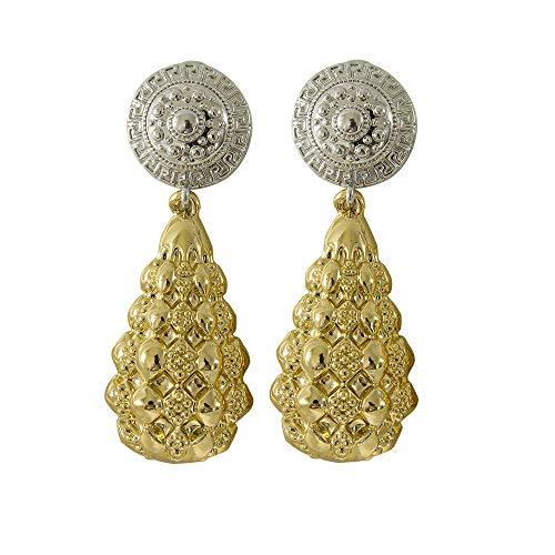 Pendientes grandes para las mujeres accesorios para joyería auriculares joyería joyería pulsera de los hombres colgantes pendientes fiesta oro femenino