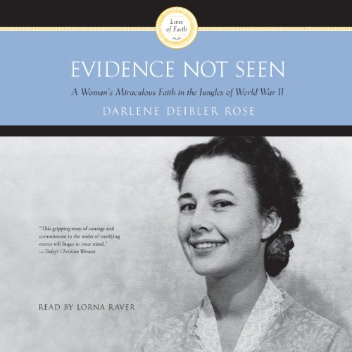 Evidence Not Seen audiobook cover art