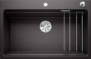 BLANCO 525892 ETAGON 8 Küchenspüle, Schwarz