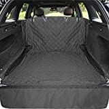 Himal Outdoors Cargo Liner for Dogs, Waterproof and Heavy Duty Cargo Line for Pets with Side Flap Protector Dog Seat Cover Mat for SUVs, Black