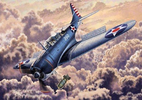 1/48 USN SBD-2 Dauntless Midway (Jap?n importaci?n / El paquete y el manual est?n escritos en japon?s)