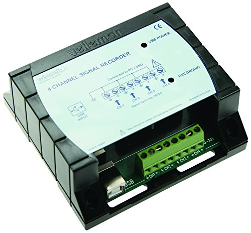 Velleman Bausatz 4-Kanal Recorder/Logger, K8047
