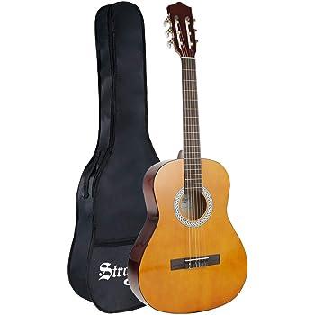 Strong Wind guitarra clásica acústica 3/4 tamaño36 pulgadas ...