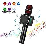 Microphone Karaoké Sans Fil, Cocopa Bluetooth Micro Portable Haut Parleur Intégré...