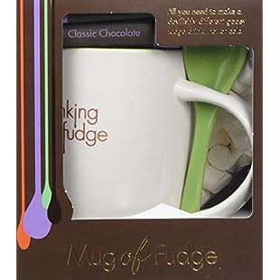 Fudge Kitchen - Drinking Fudge Gift Set - Classic Chocolate - Mug of Fudge with Marshmallows