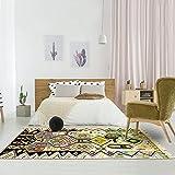 Tapis berbère 140x235 cm Rectangulaire BERBERE AZILAL 26 Multicolore Salon Noué Main