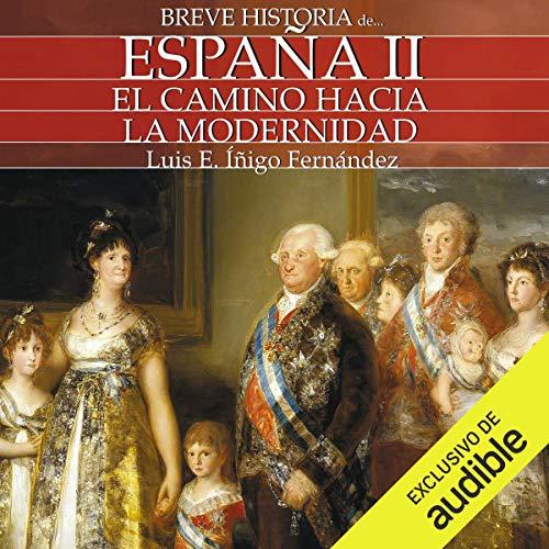Diseño de la portada del título Breve historia de España II