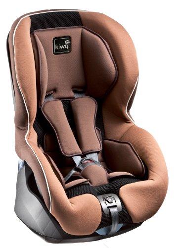 Kiwy 13011KW02B - Seggiolino auto per bambini, gruppo 1 (9/18 kg), con sistema di sicurezza SA-ATS, certificato ECE R44/04, colore: Marrone moka