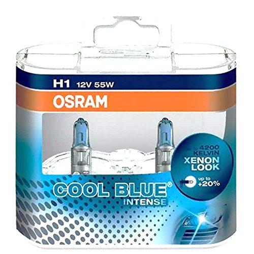 OSRAM Lampe H1 12V 55W Duo Cool Blü Intense Weiss 4008321650719