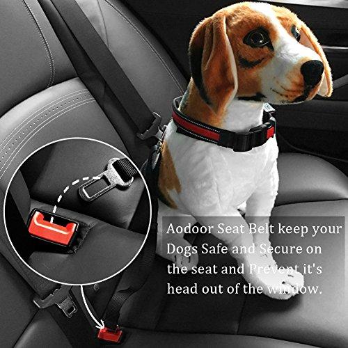 Aodoor Auto Hunde Sicherheitsgurt - 9
