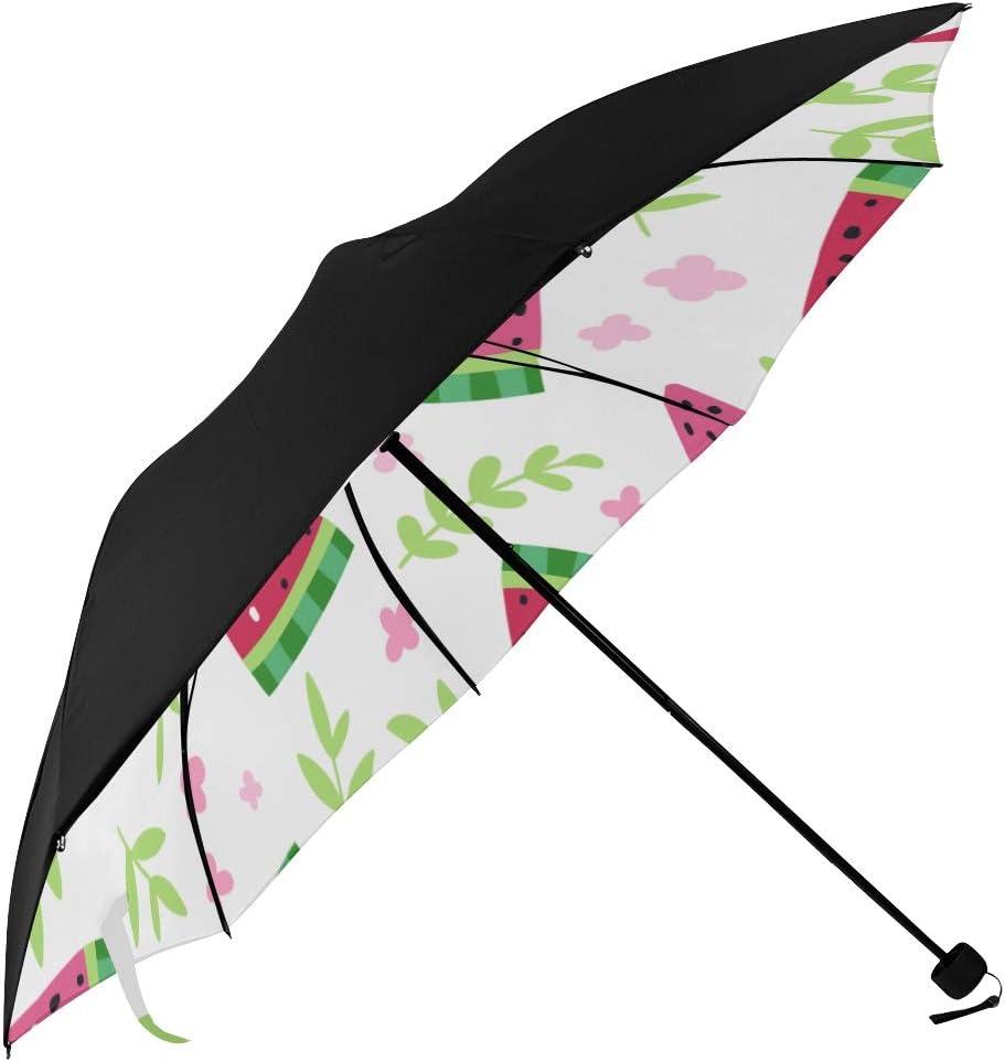 Beach San Jose Mall Umbrella Summer Floral Watermelon Max 43% OFF Printing Rever Underside