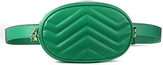 YWSCXMY-AU Waist Bag Women Packs Belt Bag Corduroy Waist Bag (Color : Green)