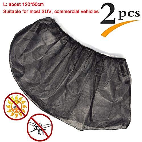 Cortinillas para Automóviles,Ventanilla del Coche Parasol Persiana,protección contra Rayos UV, Calor Y Luz Solar,más para El Conductor Y Los Pasajeros,Rearwindow