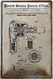Deko7 - Cartel de chapa (30 x 20 cm), diseño de oficina de