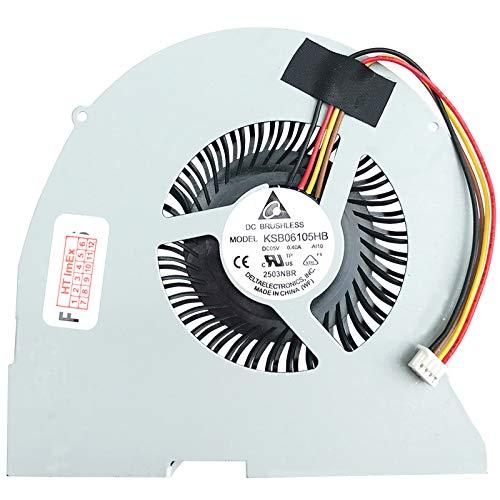 Lüfter Kühler Fan Cooler kompatibel für Lenovo IdeaPad Y510p (59375355), Y510p (59400122), IdeaPad Y410p (59369916), Y410p (59399853)