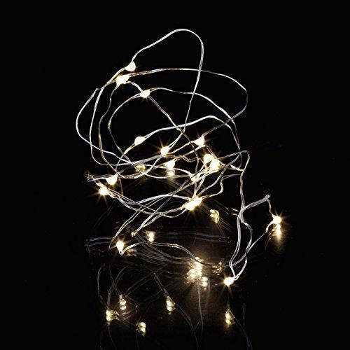 Sirius Lichterkette Knirke 20 LED batteriebetrieben innen 1,9 m silber