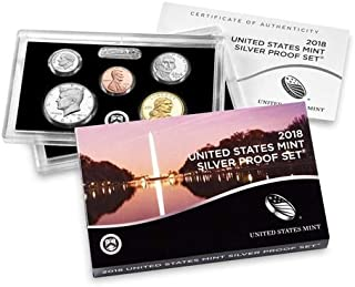 2018 S Silver Proof Set Mint Packaged