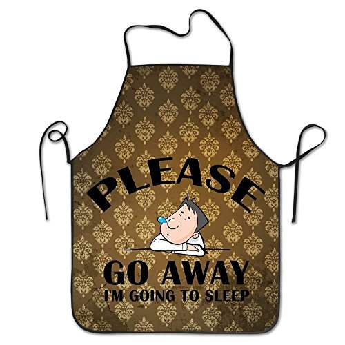N\A Vintage 50s 70s Pop Art Inspired Colorful Candy Shop Lollipops Image Apron Kitchen Woman/Man Apron Comfortable Perfect for Cooking Guide