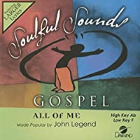 All Of Me [Accompaniment/Performance Track] (Daywind Soundtracks Contemporary) by John Legend