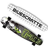 San Qing Skateboard Professionale Longboard Freestyle Set da Ballo Femminile Set Cruiser Set...