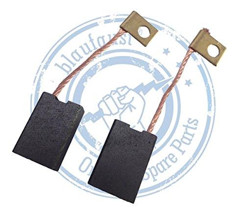 Original Blaufaust® Kohlebürsten 6.3x12.5x18 mm für Bosch GBH7/45,GBH8/65DCE,UBH10/50