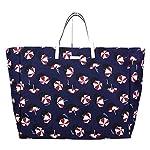 Fashion Shopping Gucci Canvas Blue Parasol Print Large Tote Handbag 286198 4160