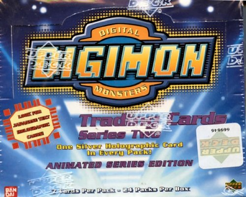 Digimon Trading Cards Series Two - 24er Display (englisch)