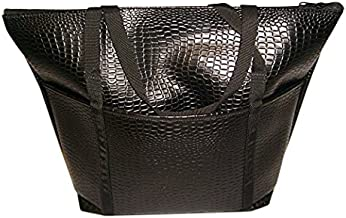 product image for Tote Bag,ladies Tote Perfect Weekend bags Italian Lizard, fully lined Made in USA.