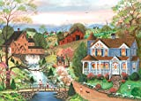 Ravensburger 14959 The Fishing Lesson 500 Piece Large Pieces Jigsaw Puzzle for Adults - Every Piece is Unique, Softclick Technology Means Pieces Fit Together Perfectly