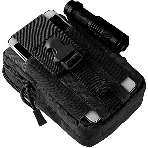 Top 10 molle pouch black small for 2021