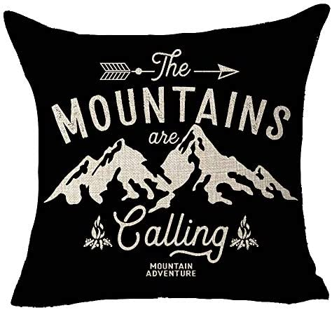 FELENIW The Mountains are Calling Adventure Arrow Campfire Outdoor Adventure Mountain Forest product image