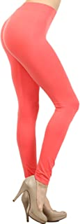 Colored Seamless Leggings Athletic Pants Costume Party Tights Quality