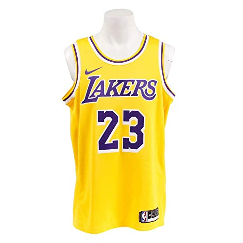superior quality ef87e 025d2 Men's Lebron James Lakers Jersey: Amazon.com