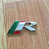 Distintivo per Baule Posteriore 3D per Auto, Badge Adesivi, Stemma Auto Emblema, Car Styling, per for Jaguar R Logo X-Type F-Type S-Type XE XF XJ XK XJR XFR