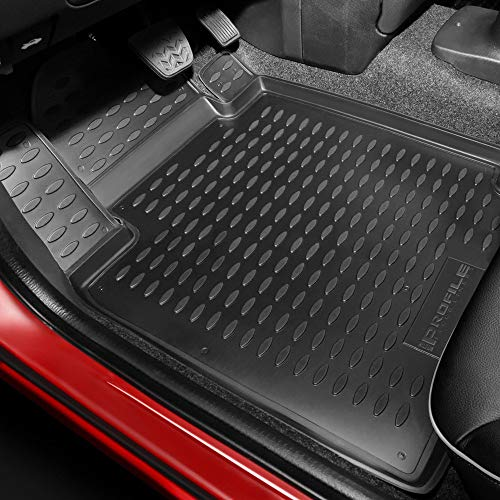 Westin Black Profile Floor Liners Front Row E-Class Sedan & Wagon 2011-2013